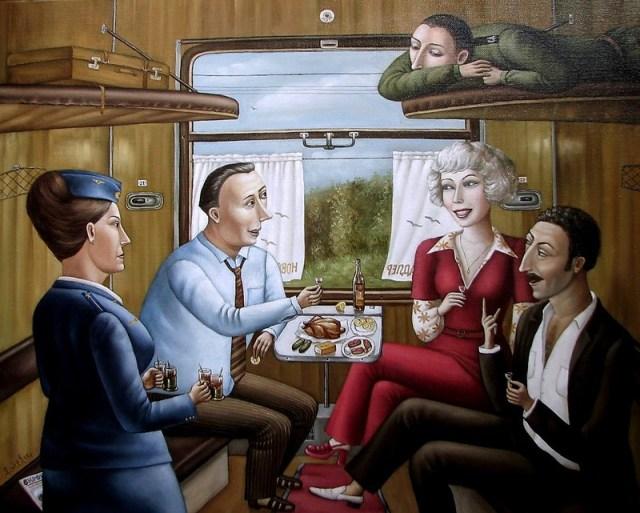 AngelaJerich04 Путешествие в СССР: картины художницы Анжелы Джерих