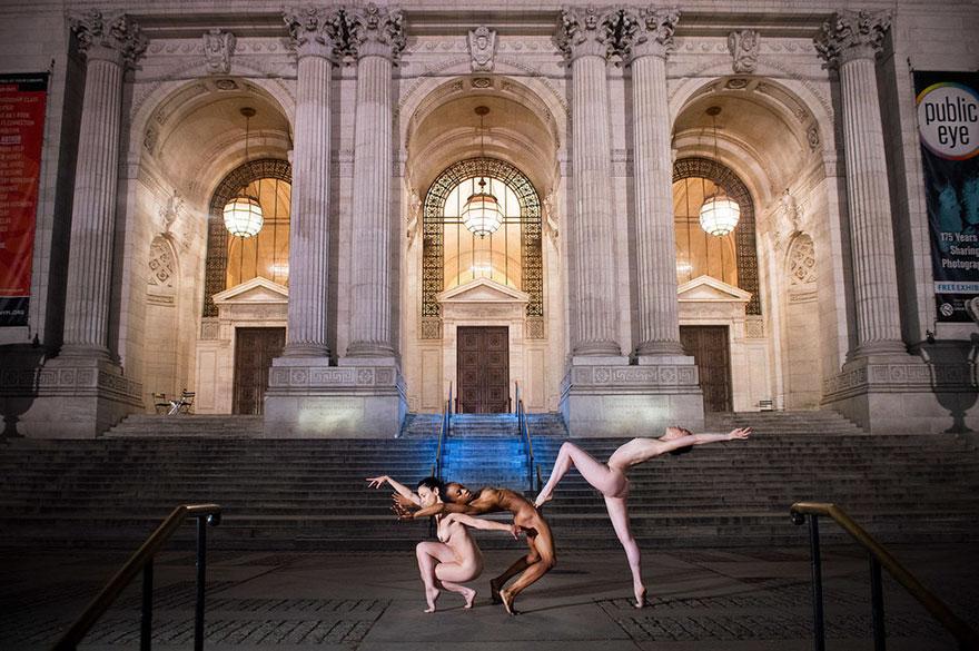 Обнажённые танцоры в фотографиях Джордана Мэттера 17