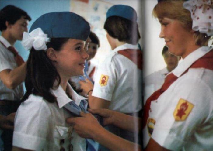 Самый маленький посол доброй воли Саманта Смит в *Артеке* | Фото: webpark.ru