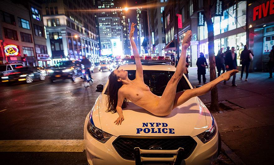 Обнажённые танцоры в фотографиях Джордана Мэттера 13