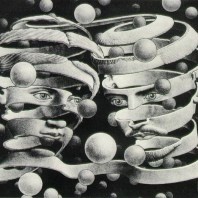 Bond of Union by M.C Escher