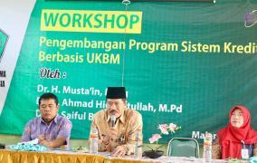 Workshop Pengembangan SKS Berbasis UKBM, MTsN 3 Malang Memberikan Layanan 2 Tahun Lulus