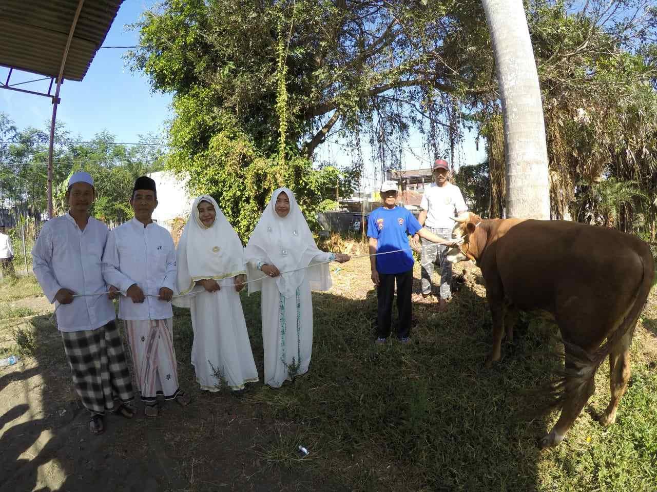 Peringati hari raya Idul Adha, MTsN 3 Malang Malang sembelih hewan kurban sebagai sarana berbagi dan napak tilas Nabi Ibrahim AS
