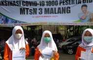 Seribu Vaksin Untuk Siswa Madrasah