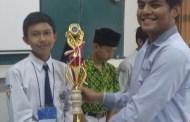 Juara Harapan 1 Olimpiade Fisika Nasional