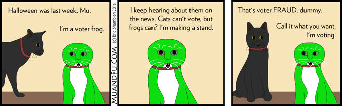 Mu wants to vote
