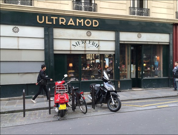 Ultrmod mercerie, rue Choiseul,  pic: Cynthia Rose