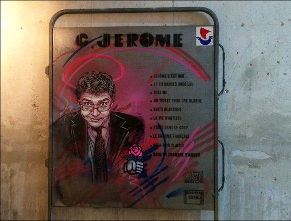 Mayor Coumet by C215 (at 'Douce France', Galerie Itinerrance); pic: Steve Sampson