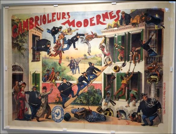 Posters by de Faria at Fondation Jérôme Seydoux-Pathé; pic: Cynthia Rose