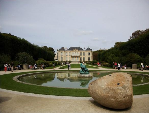Back of the Hôtel Biron today; pic: Steve Sampson