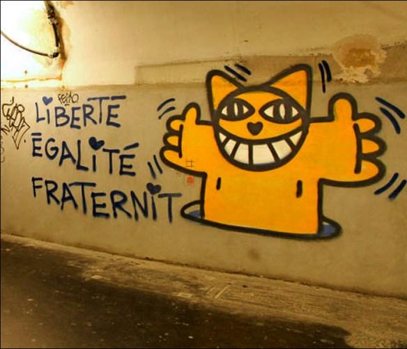 Mr. Cat's offending work, pic: Konbini