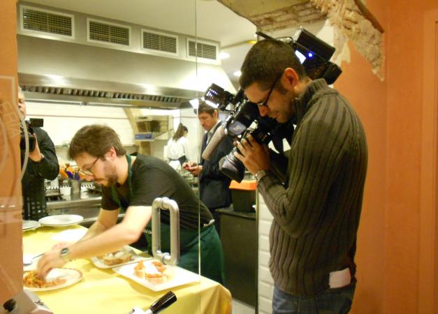 concursando en la escuela de cocina de Mey Hoffman
