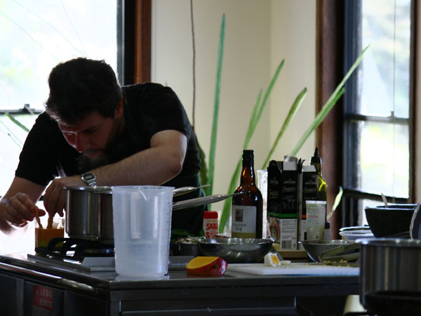 Concursando en la final australiana de Blog Off - Cook Off