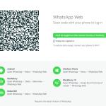 WhatsApp has introduced an easy to setup web client for quick access via desktop web browsers