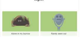 Earth Day 2015: Which animal are you? An Animated Earth Day Quiz Doodle by Google