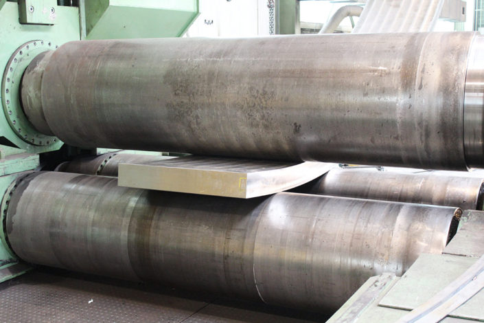 Rolled part (140 mm)