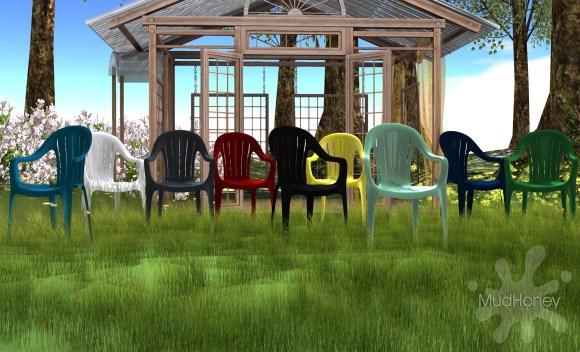 mudhoney plastic chairs ad