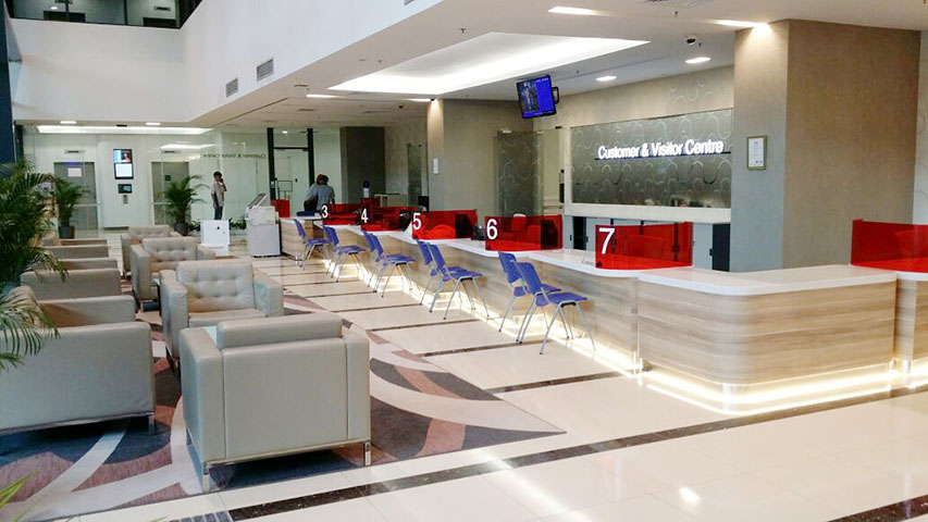 Customer & Visitor Centre @ ITE College