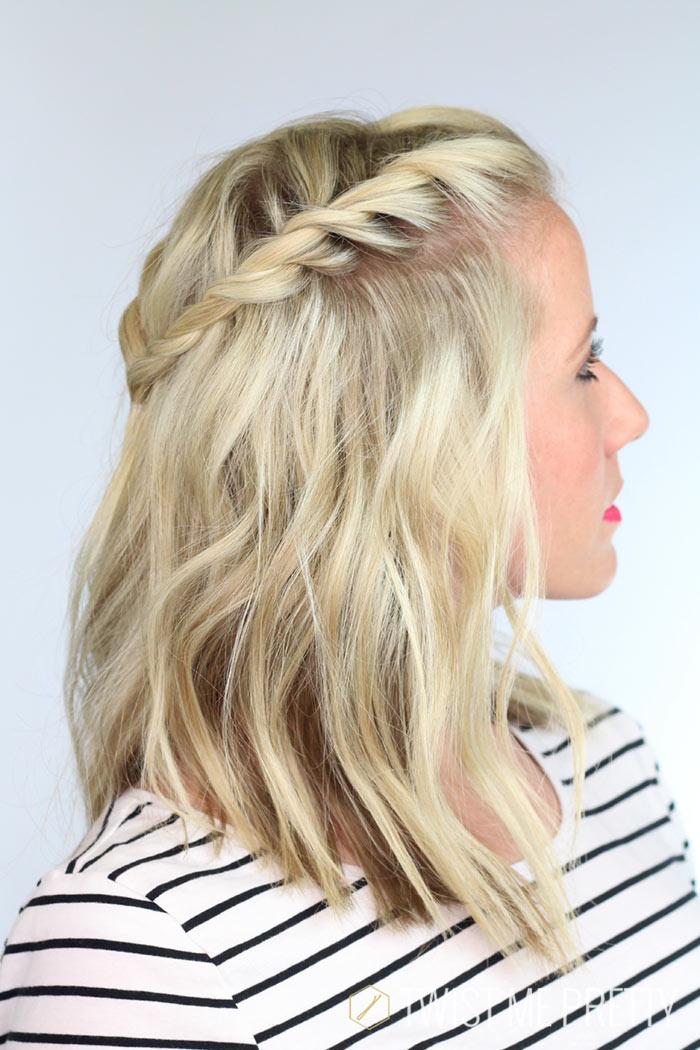 peinados para cabello corto imagen