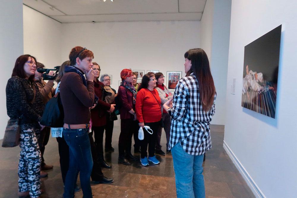 El equipo de didáctica del IVAM. Aproximaciones de género al arte contemporáneo a partir de la mediación educativa. Proyecto invitado. Mujeres Mirando Mujeres. MMM18