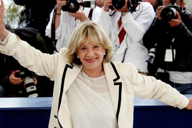 Jeanne Moreau em Cannes em 2005 - Foto: John Schults/Reuters