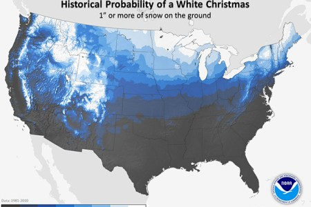 will we see a white christmas this year? portland press