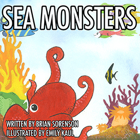 Sea Monster Coloring Book Contest 3