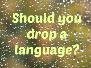 Bilingual parents – what to do if you are told to drop one of your languages?