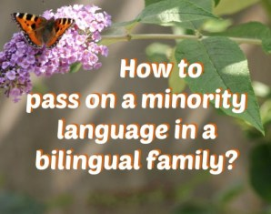 How to pass on a minority language to a child in a bilingual family
