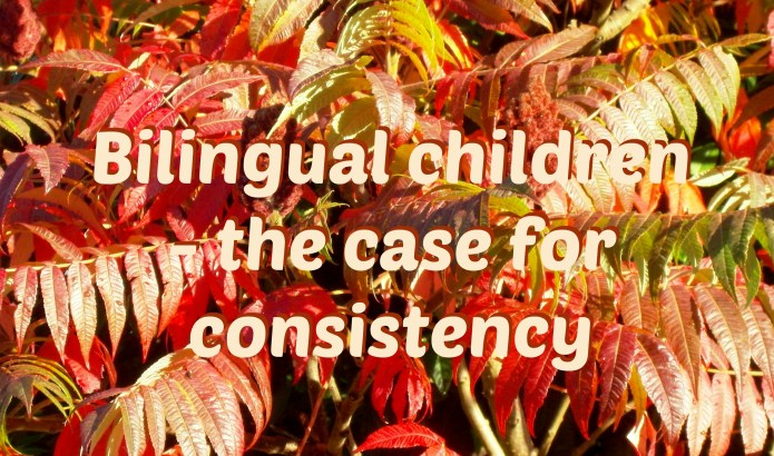 Bilingual children - the