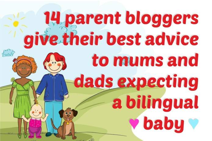 Expecting a bilingual baby