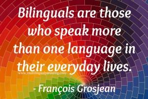 Professor François Grosjean - on bilingualism, language mode and identity