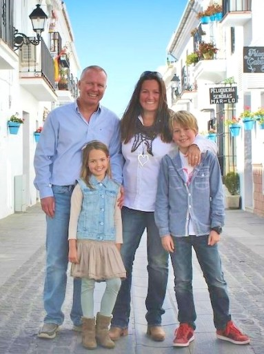 Multilingual Family with English and Spanish in Spain
