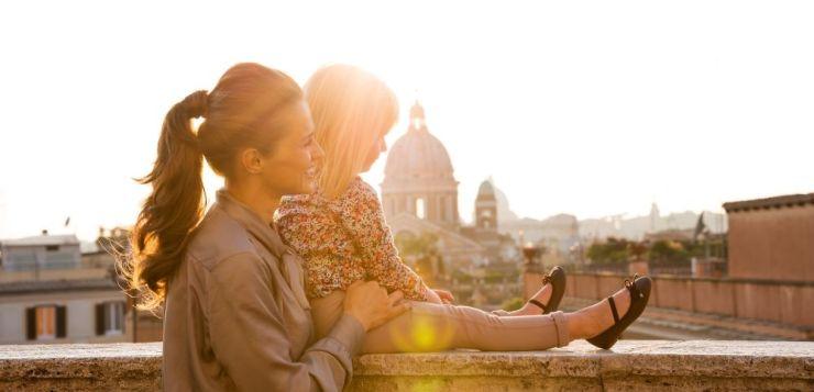 Rodzinna wycieczka do Rzymu