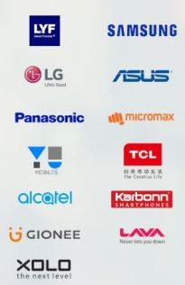 All Brands which are supported for jio preview offer