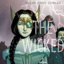Wicked & the Divine 1831 Cover Edit