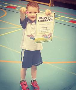 Zach finished another term at Rugby Tots this morning andhellip