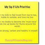 Pick Your Top Priorities