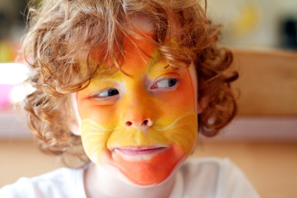 Face Paint Of The Lorax