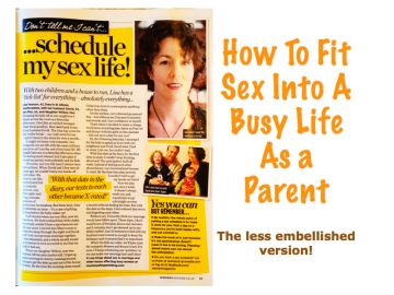 Sex life for busy parents