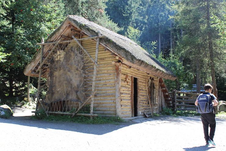 Ötzi house. Copyright Gretta Schifano