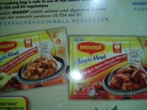 Maggi Magic Meals Variants