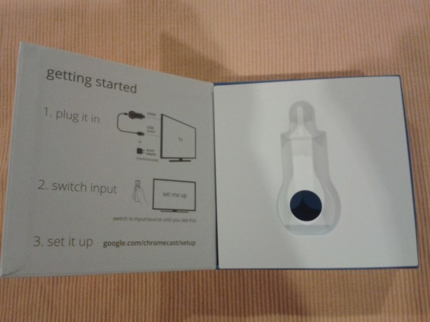 Instructions For Setting Up Google Chromecast