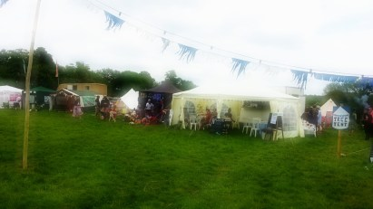 The Tea Rooms tent
