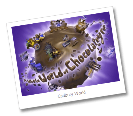Chocolatey funworld Day trips to keep everyone happy: Cadbury World