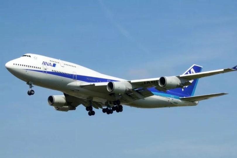 Boeing 747 da ANA (Foto: Divulgação)