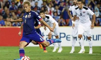 Japão vence Iraque na Copa da Ásia 2015 (Foto: Kyodo/Reuters)