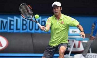 Kei Nishikori derrota Nicolas Almagro no Aberto da Austrália (Foto: Getty Images)