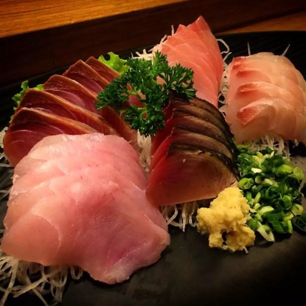 Sashimi Moriawase (Foto: Restaurante Azumi)
