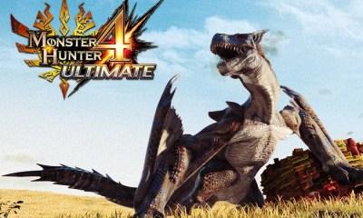 Monster Hunter 4 Ultimate (Imagem: Divulgação/Nintendo)